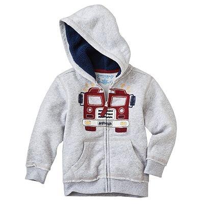 SONOMA life + style Applique Fleece Hoodie - Toddler. $13.50 on sale