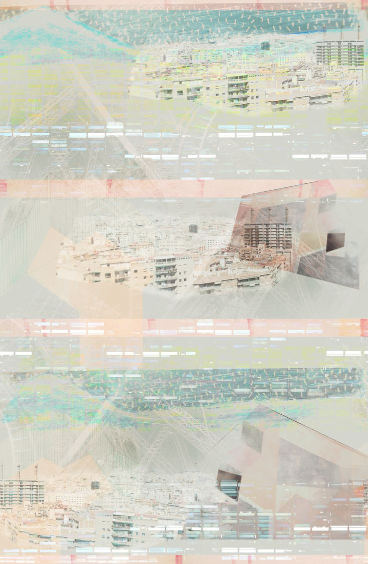 URBAN LANDSCAPE print pattern by ainams©