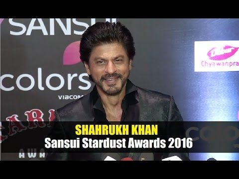 Shahrukh Khan @ Stardust Awards 2016 | Bollywood News Villa.