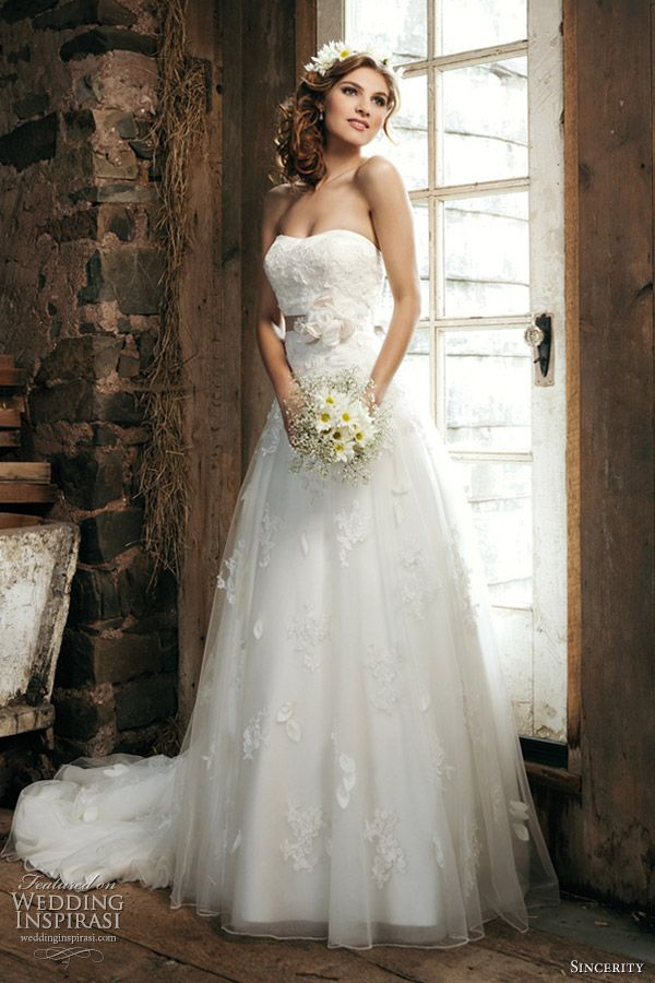 sincerity bridal gowns 2012 collection -- Sincerity Bridal Wedding Dresses 2012