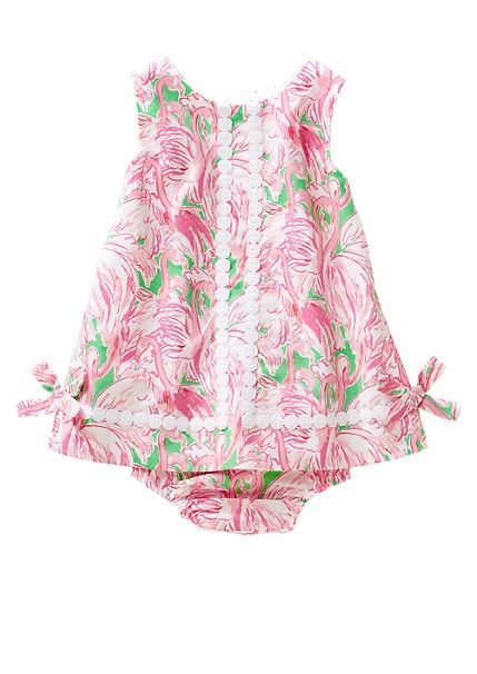 Lilly Pulitzer Baby Lilly Shift Dress in Pink Colony