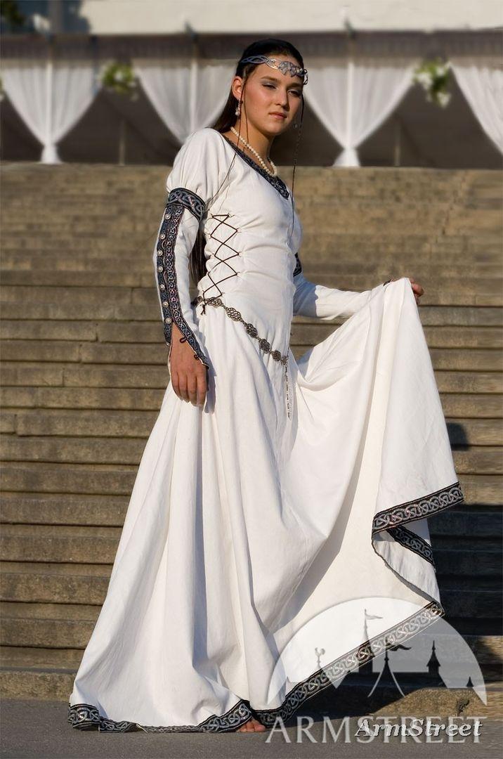 036d733b1ff White medieval renaissance costume Chess Queen dress. Brand new and  original ArmStreet costume for sale    by medieval store ArmStreet