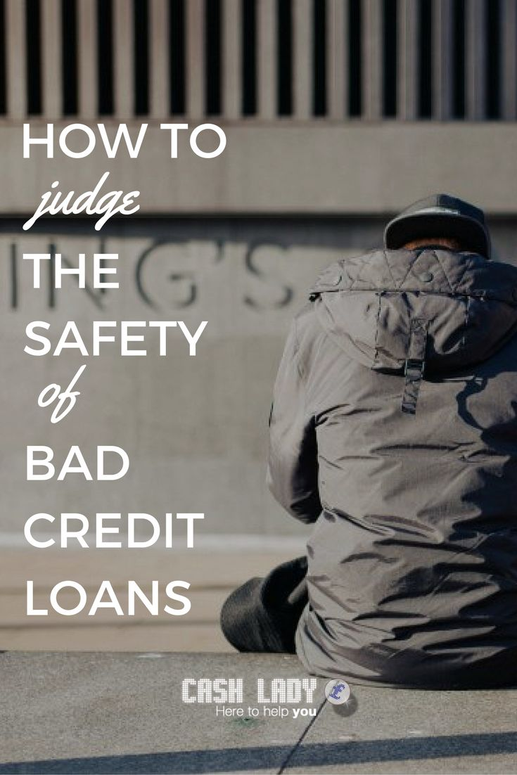 How safe are bad credit loans? Bad credit loans are safe, as long as you make use of the protections in place.  Many problems in the past left some bad credit loan providers with a worrying reputation. But, a response by regulators and responsible lenders has placed them amongst the safest forms of borrowing.