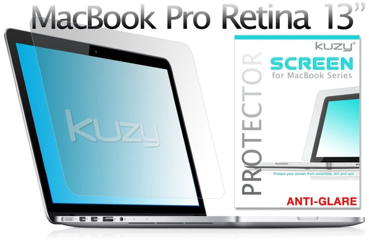 Kuzy - Retina 13-Inch CLEAR Screen Protector Film for: Amazon.co.uk: Electronics