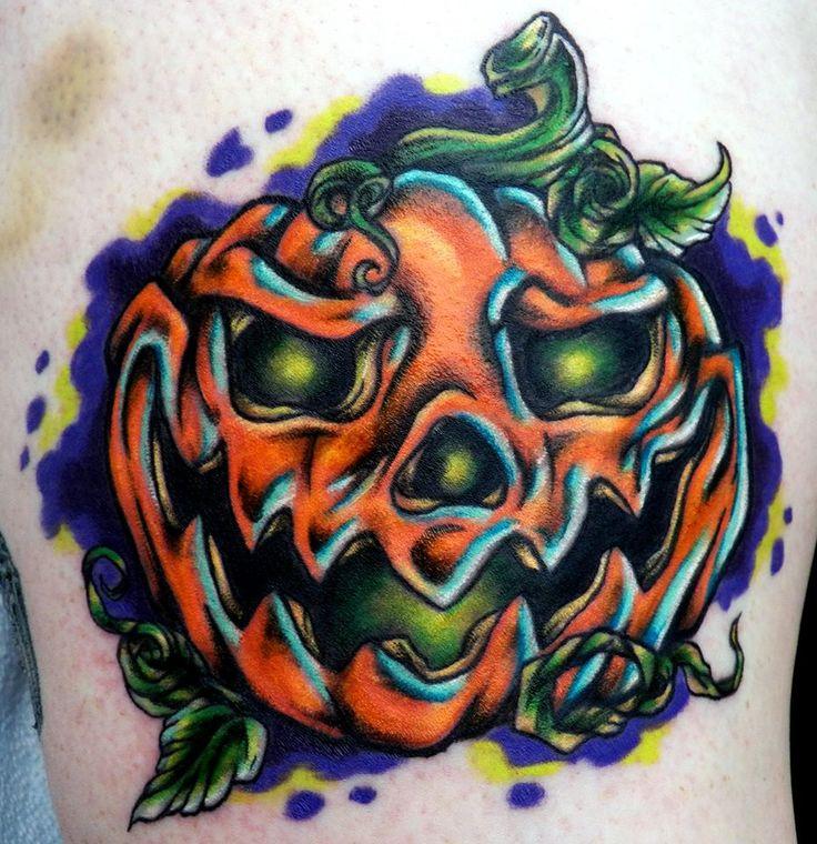 Jack-O-Lantern ... Evil Jack O Lantern Tattoo