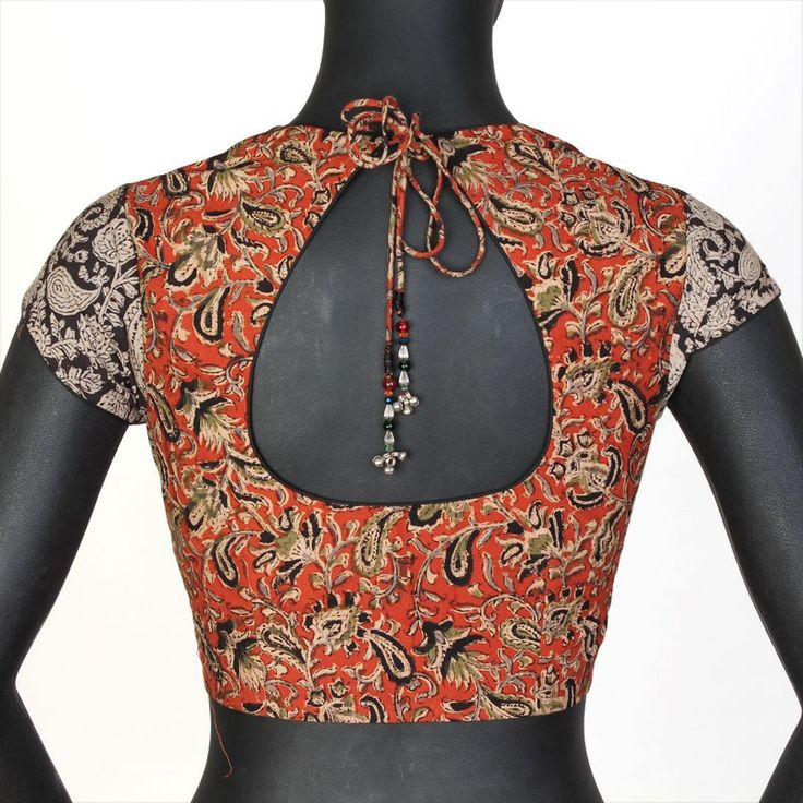 Mix And Match Kalamkari Stitched Blouse-Clothing-The Blouse Factory