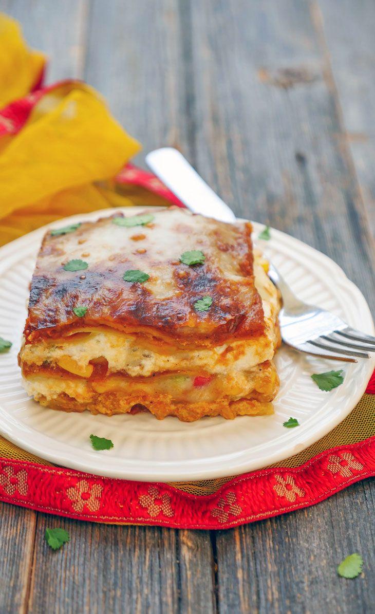 Veg Lasagna Recipe How To Make Healthy Vegetarian Lasagne Indian Style Pasta Recipes Youtub Veg Lasagna Recipe Healthy Lasagna Recipes Vegetarian Lasagne