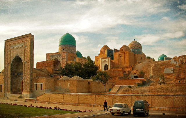 Samarkand-a beautiful and remote part of Asia.  Formerly part of the U.S.S.R.