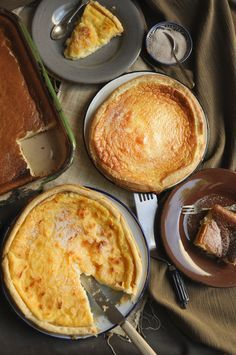 Milktart – the do's and don'ts! http://www.my-easy-cooking.com/2014/05/16/milktart-dos-donts/