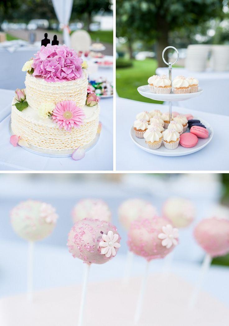 Hochzeitstorte, Cakepops