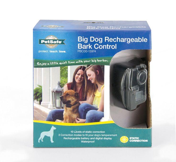 PetSafe Big Dog Rechargeable Bark Collar for Medium and