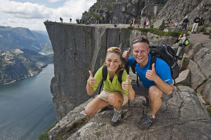 WOW! Spectacular and accessible! Get your photo at the mighty Pulpit Rock!