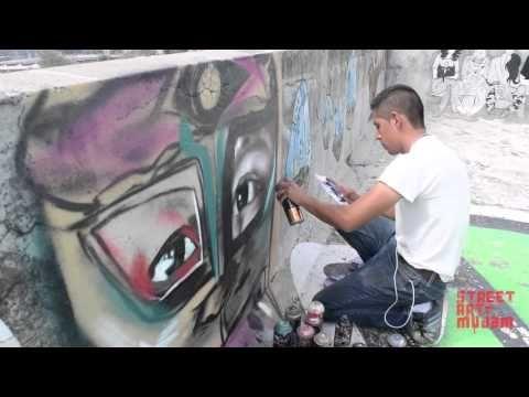 Street Art MUJAM, Museo del Juguete Antiguo México, talento mexicano, muralismo, arte, pintura, rooftop, artista: TOMER,  aerosol, CDMX.