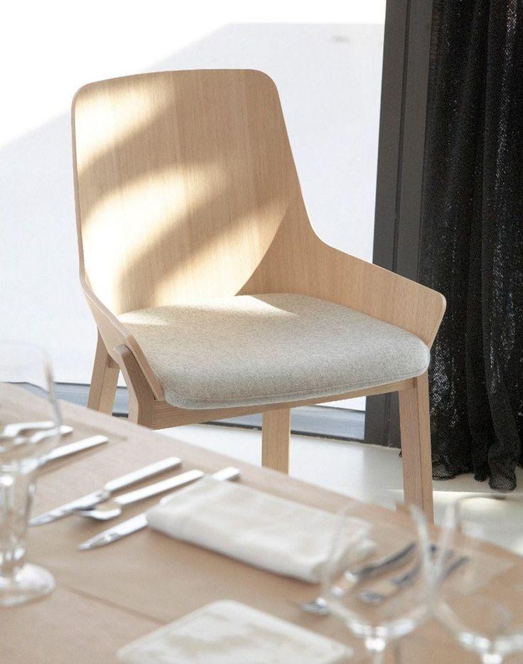 This is so gorgeous.. Oak #chair KOILA by ALKI | #design Jean Louis Iratzoki @alkifurniture