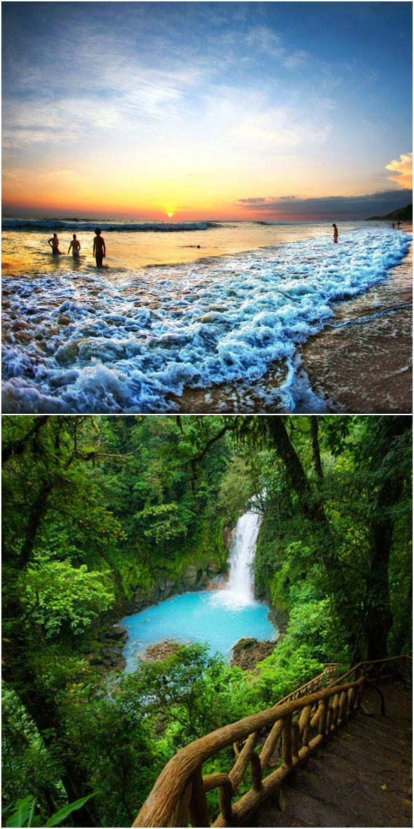The 5 Most Beautiful Places To Visit In Costa Rica This Winter Azula Travel Pinterest