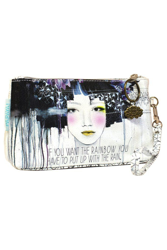 Wallet Wristlets are designed to carry your essentials for a night on the town: your phone, credit card, and a tube of lip gloss. They are also a great size for organizing cosmetics that you may want to fit into a larger purse.