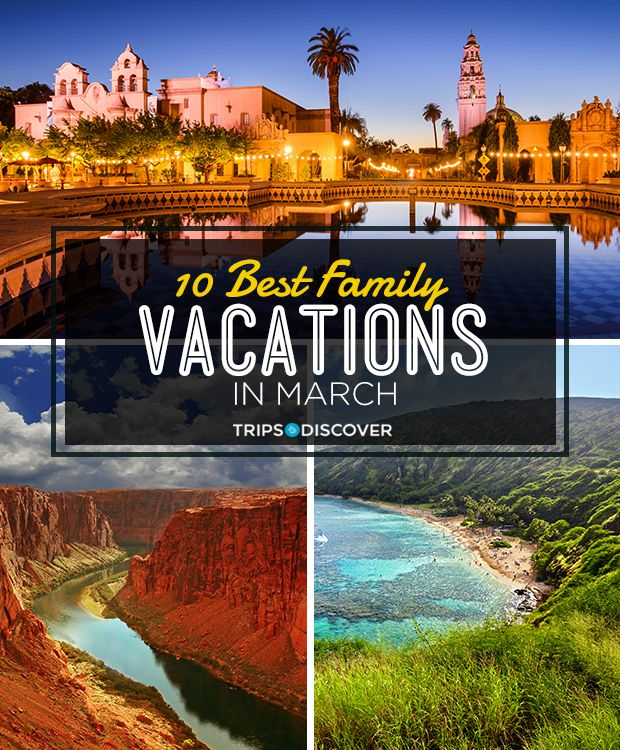 The 10 Best Family Vacations In March Best Family Vacations Family Beach Trip Best Island Vacation
