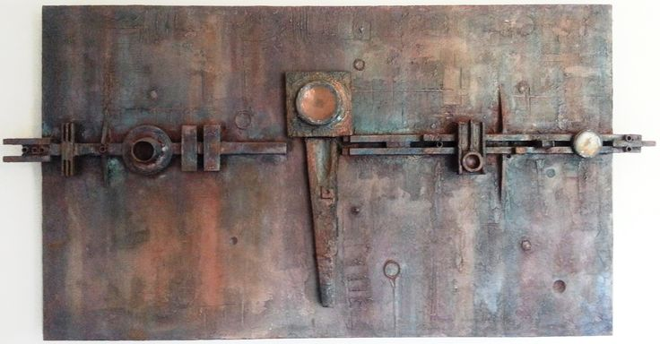 Arthur Dagley - Unknown (copper, resin and wood)