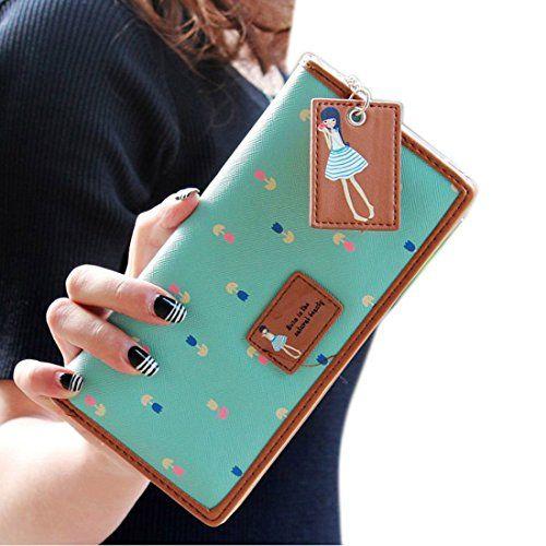 Vovotrade(TM) Hot Sale!! Elegant Lady Women Long Purse Clutch Wallet Zip Bag Card Holder (green) Vovotrade(TM) http://www.amazon.com/dp/B00PGHC62C/ref=cm_sw_r_pi_dp_ppFTvb1SJFESQ