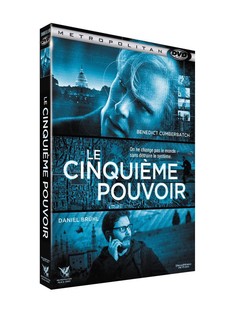 """Jeu Concours: 1 combo bluray+dvd et un dvd du film """"Le Cinquième Pouvoir"""" à gagner"""