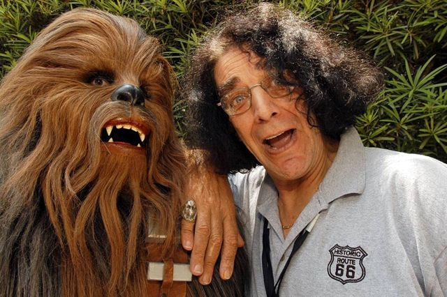 Chewie, Documentary Planned About Star Wars' Actor Peter Mayhew Who Played Chewbacca...   Look at his ring! How cool is that!