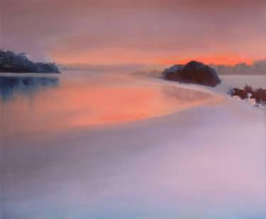 "Saatchi Art Artist Marta Zamarska; Painting, ""Winter Impression II"" #art"