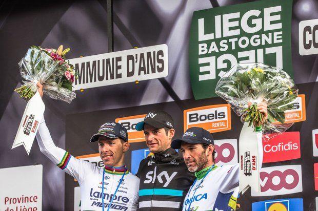 La course - Liège > Ans - Liège Bastogne Liège 2016