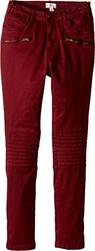 Pumpkin Patch Kids Girls Celia Knee Panel Pants Little KidsBig Kids Pomegranate Pants * You can get more details by clicking on the image.Note:It is affiliate link to Amazon.