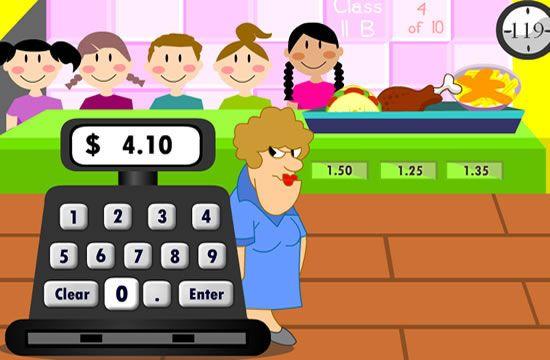 money computer games for kindergarten