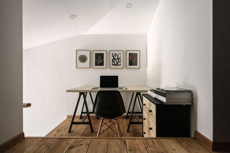 decoracao de interiores sotaos: No Teto, Espaços No Sótão e Decoração De Bibliotecas Em Casa