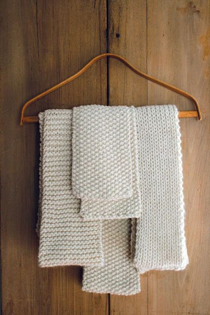 NATURE WHISPER: DIY: Knit ideas and projects for beginners