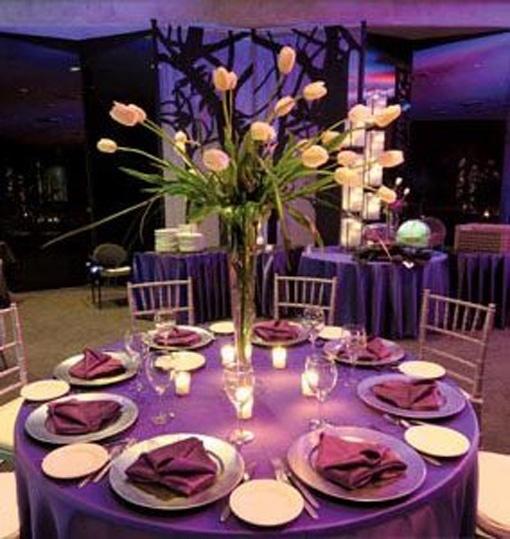 purple centerpieces for weddings | Purple Wedding Centerpiece Ideas Purple and Green Wedding Centerpieces ...