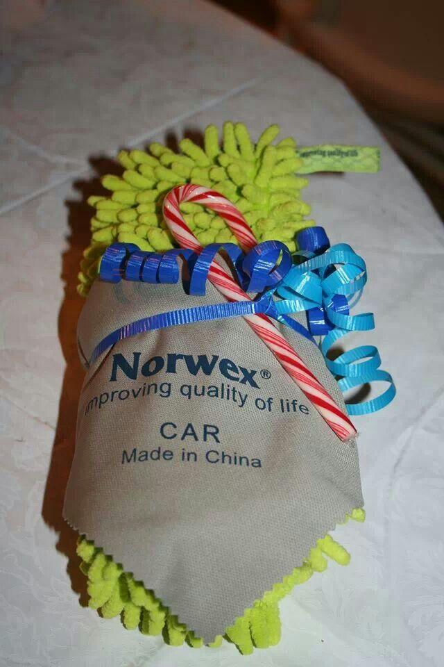 norwex car cloth instructions