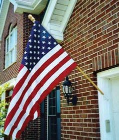 Side Mount Flag Pole Bracket Home Stuff Pinterest