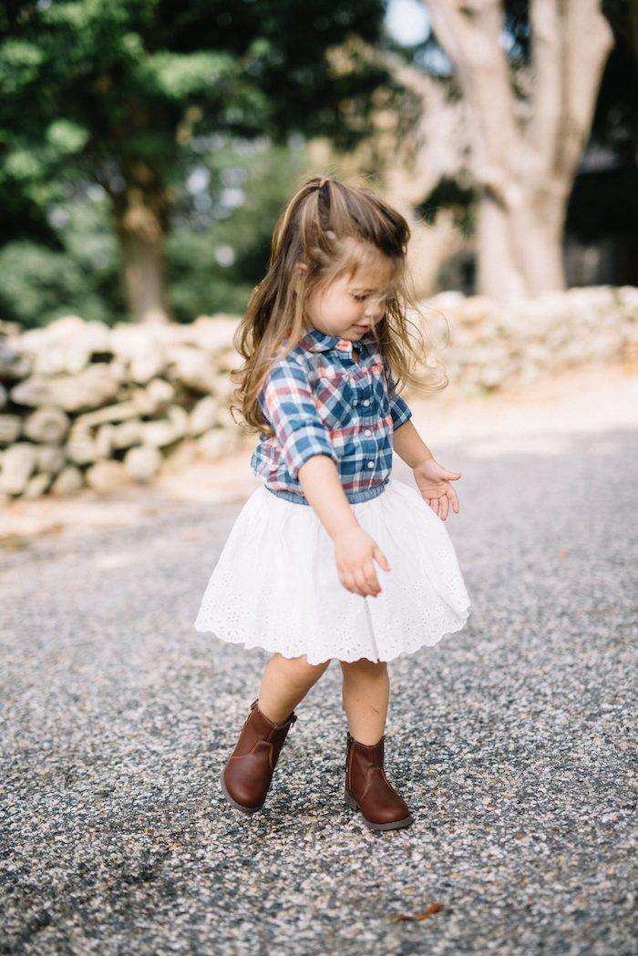 Baby girl fashion style