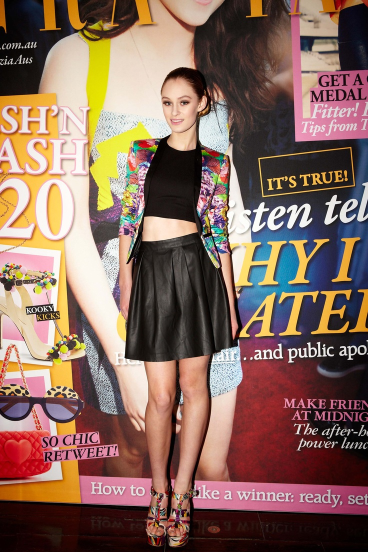 Bardot cover girl glamour @ 30 days of Fashion & Beauty