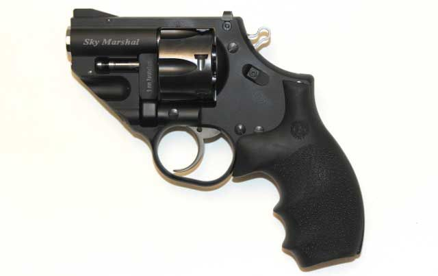 Korth will be showing the Sky Marshal revolver at the 2015 SHOT Show. This six-shot wheelgun is chambered in 9mm and does not need to use moon clips to cha