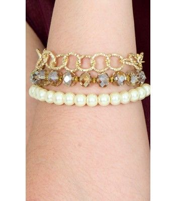 Pulsera perlas y murano lindas joyas  www.hogla.com.co