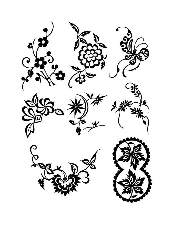 motif small henna designshenna - Small Designs