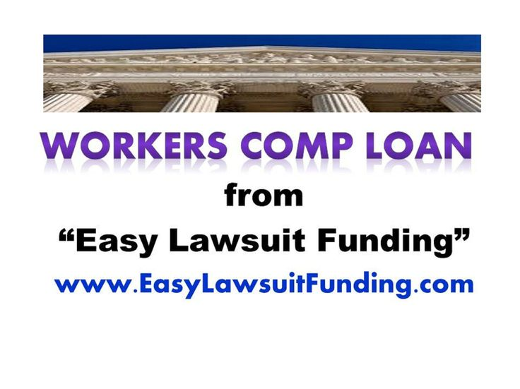 """http://www.easylawsuitfunding.com Workers Comp Loan - """"Easy Lawsuit Funding"""" offers non-recourse lawsuit loan for injured workers who have pending workers compensation settlement & pressing financial needs. Process is simple, fast and free. There are no upfront fees. There is no credit & employment check. Pay back only if you get your settlement.  To apply & learn about lawsuit loan and lawsuit funding, please visit our website: http://www.easylawsuitfunding.com/Workers_Comp_Funding.html"""