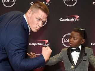 EXCLUSIVE: ESPYs Standout Jarrius Robertson Jokingly Threatens to Steal Nikki Bella From John Cena!