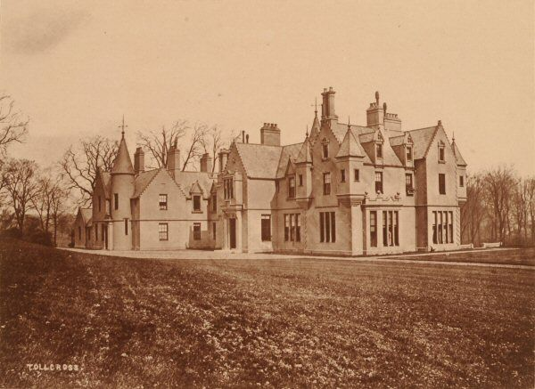 Tollcross, this was the property of James Dunlop, Esq., in Shettleston, Lanark.