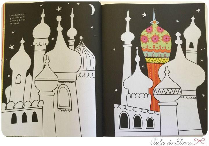 El gran álbum para dibujar, colorear y garabatear en el Aula de Elena 13