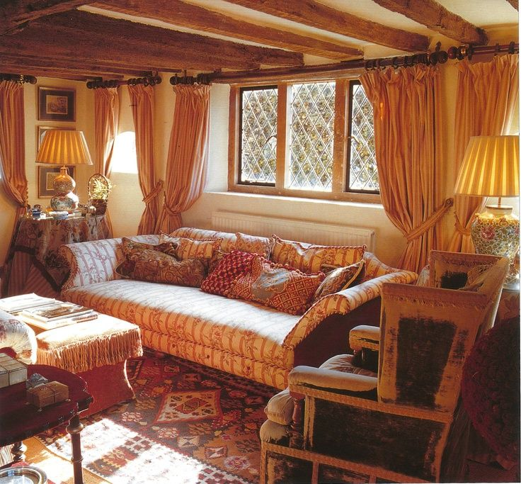 English Country Cottage Interior