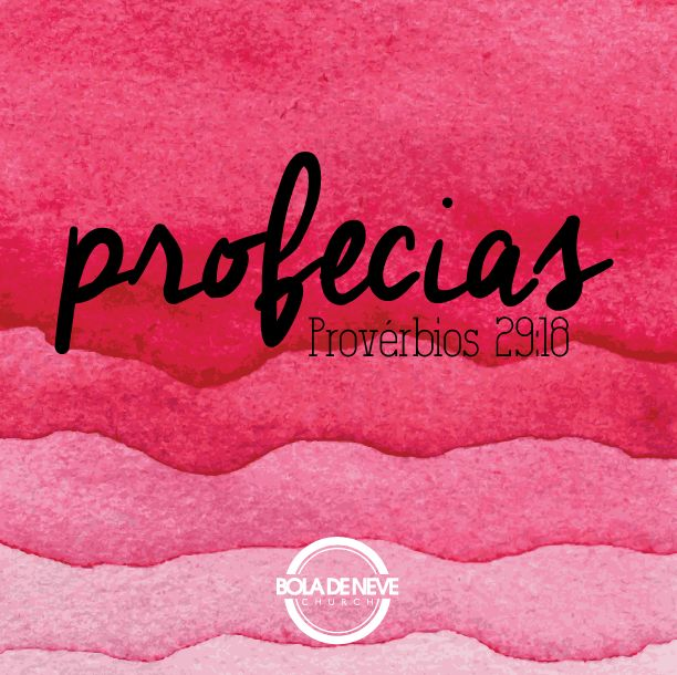 """Pv. 29:18 """"Não havendo profecia, o povo se corrompe; mas o que guarda a lei, esse é feliz"""" (ARA) Deus nos dá suas visões e revelações, para advertir, exortar, animar, ou seja, para direcionar o seu povo a cerca das coisas que virão, sem essas visões o povo age por seu próprio entendimento e se perde, mas mesmo quando não temos profecias, temos algo precioso que a Sua lei, ou seja a Sua palavra, a Bíblia e aquele que guarda (pratica) suas leis e palavra é uma pessoa feliz."""