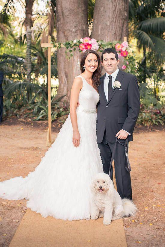 Michelle and Nathans Flower Filled Wedding  |  Polka Dot Bride