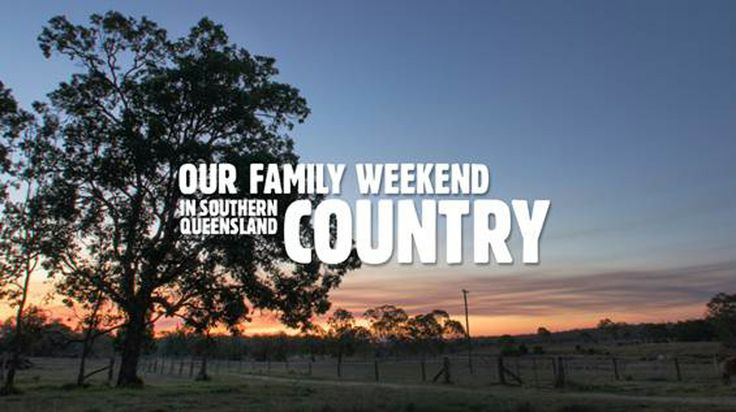 A family weekend in Southern Queensland Country [video]