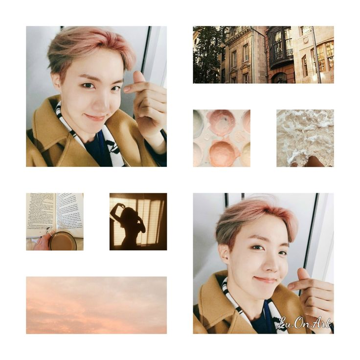 My own work - Lu.On.Art J-Hope BTS Collage #hoseok#hobi#jhope#bts#comeback#btscomeback#collage#btscollage#aesthetic#kpop#kpopidol#brown