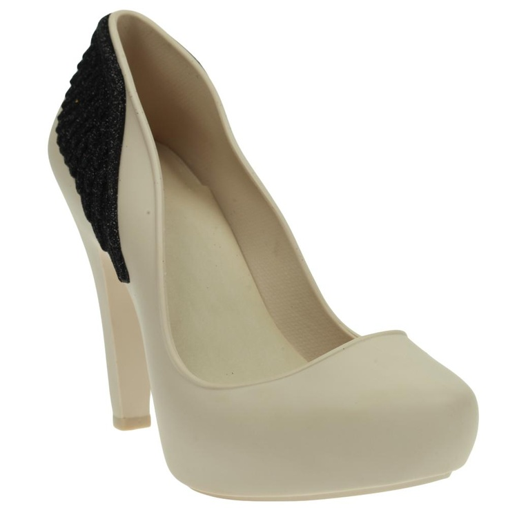Sapato Melissa Incense II SP Bege/ Preto @ Glamour