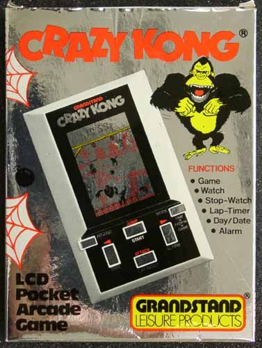 Grandstand Crazy Kong